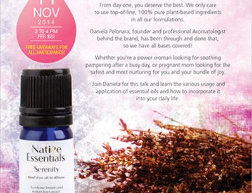 Native Essentials Oils Workshop