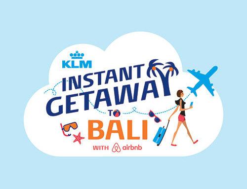 KLM Instant Getaway Logo