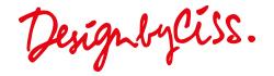 DesignbyCiss.com Logo